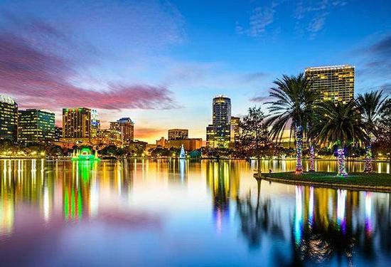 4。 Orlando, FL