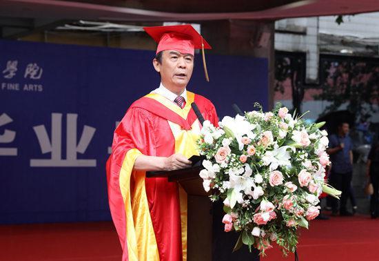 西安美术学院院长 郭线庐(西安美术学院/供图)
