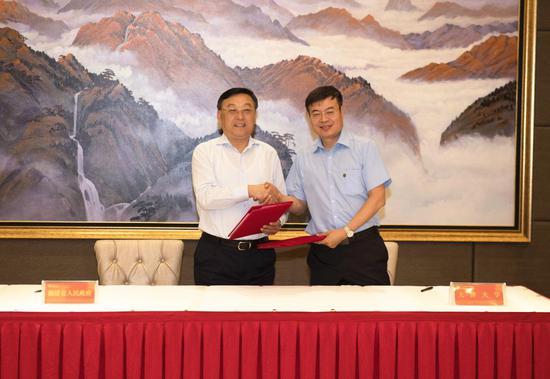 福建与天津大学合作 推动天津大学福州国际校区