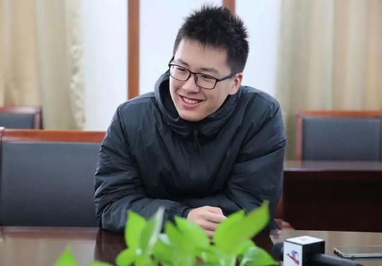 """马晓阳。本文图片均来自""""安徽商报""""微信公号"""