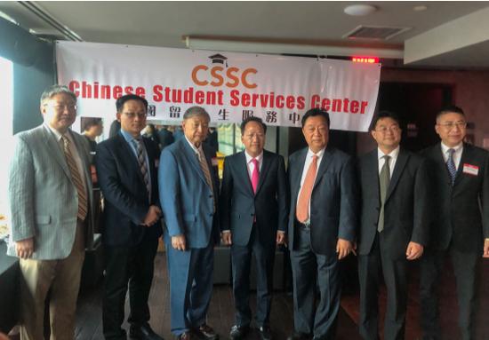 纽约中国留学生服务中心董事、远大美国公司总经理王曙光发言。