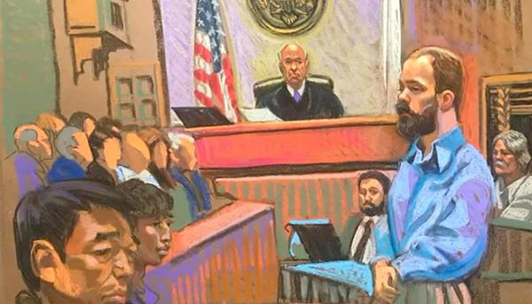 11日,章莹颖案审判继续进行。