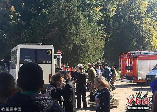 克里米亚校园爆炸案致19死50伤:嫌犯动机不明