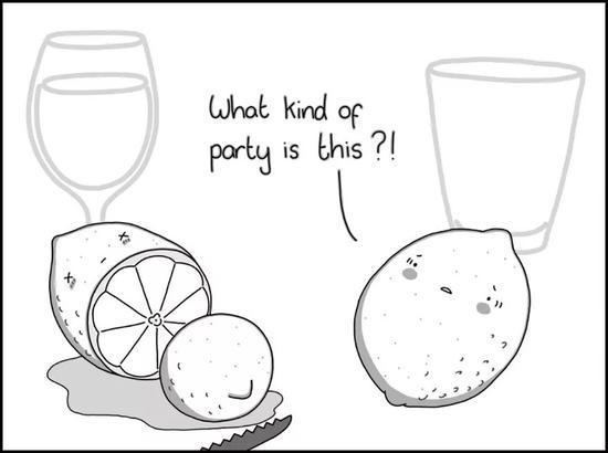 鸡尾酒派对上