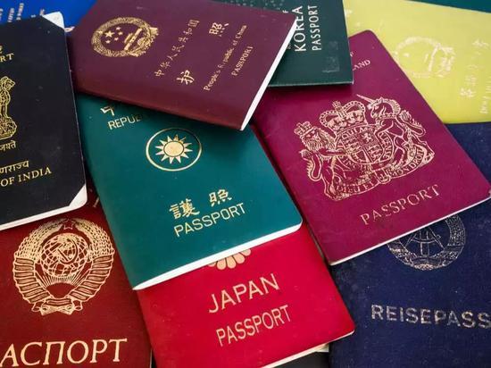 部分国家护照