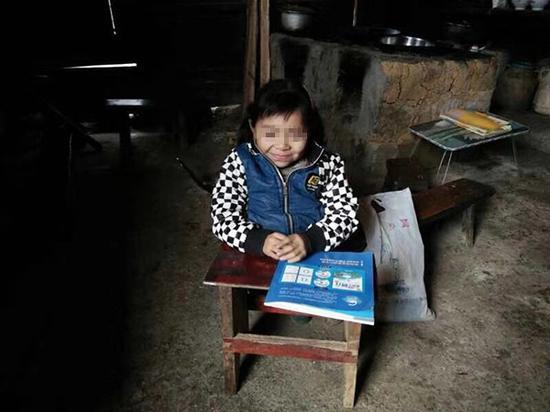 """贵州教师为山里残疾女童自费建""""一人校舍"""":扶智扶志"""