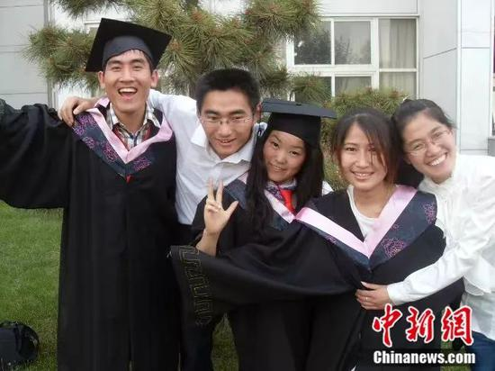 刘秀祥大学毕业 受访者供图