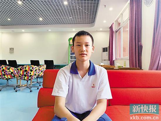 ■近日,广附的彭博同学上了热搜。