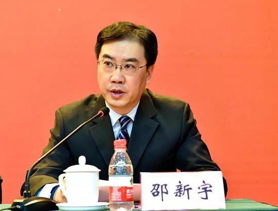 邵新宇 华中科技大学校友总会网站 资料图