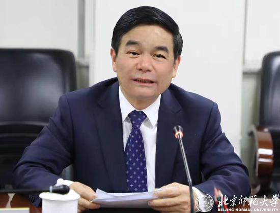 北师大校长董奇发言