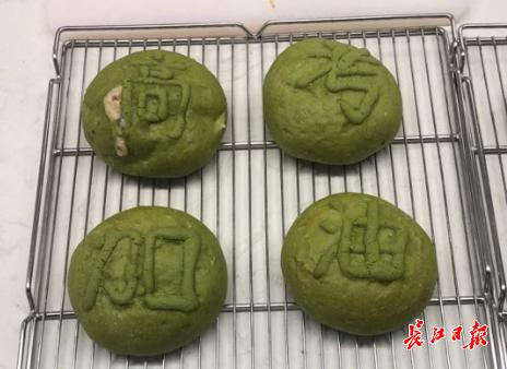 万梓琦做的糕点 通讯员刘江华 摄