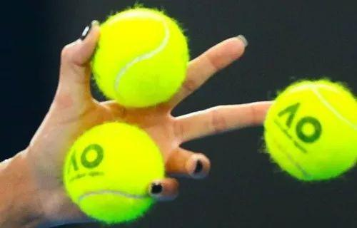 Are these tennis balls yellow or green?