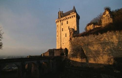 4. Chateau de Chinon (France)