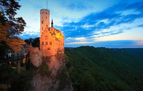 2. Lichtenstein Castle (Germany)