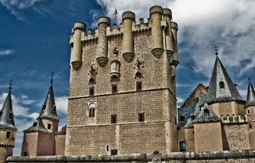 8. The Alcazar of Segovia (Spain)