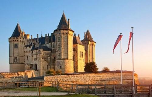 5. Chateau de Saumur (France)
