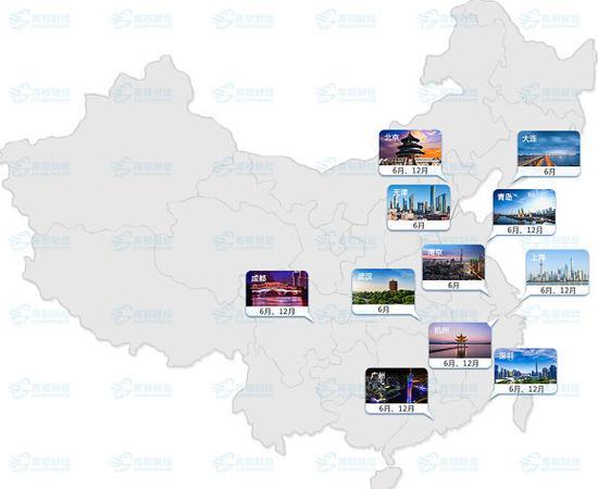 CFA协会官网关于2019年CFA中国大陆考点信息: