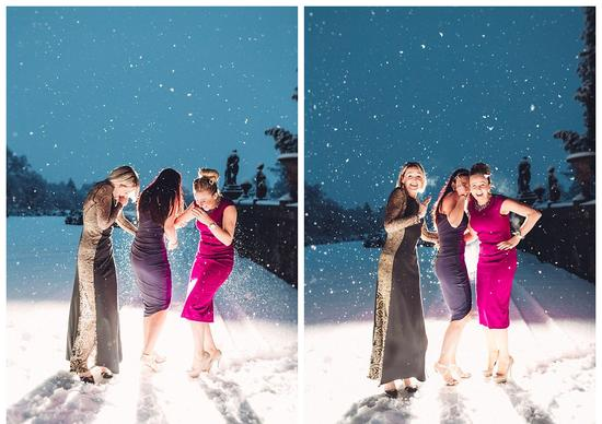 雪景婚炤驚:冰雪奇 自冬天的祝福