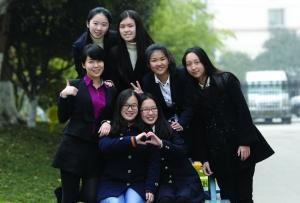 南京外国语学校七位女学霸被世界名校相中(图)
