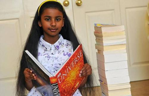 十岁女童智商测试获满分 智商超爱因斯坦