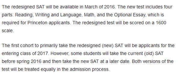 同时参加新旧SAT考试 SAT成绩怎么提交