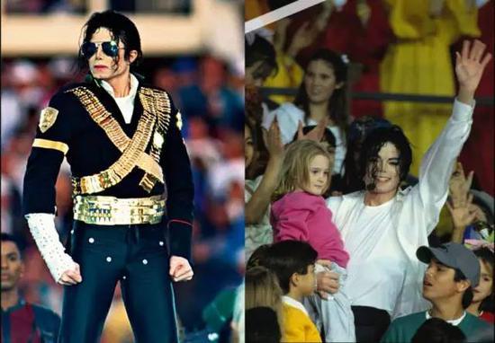 1933年Michael Jackson震撼登场,并在 3500 个孩子簇拥下演唱了经典的《Heal the World》