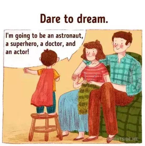 孩子的身上有时候真的有大人们想不到的力量哦!