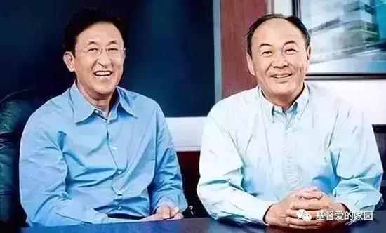 左:杜纪川,右:孙大卫弟兄)