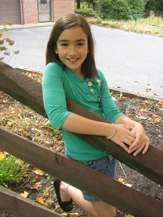 她现在16岁,不过她在7岁的时候就已经是美国的名人了,