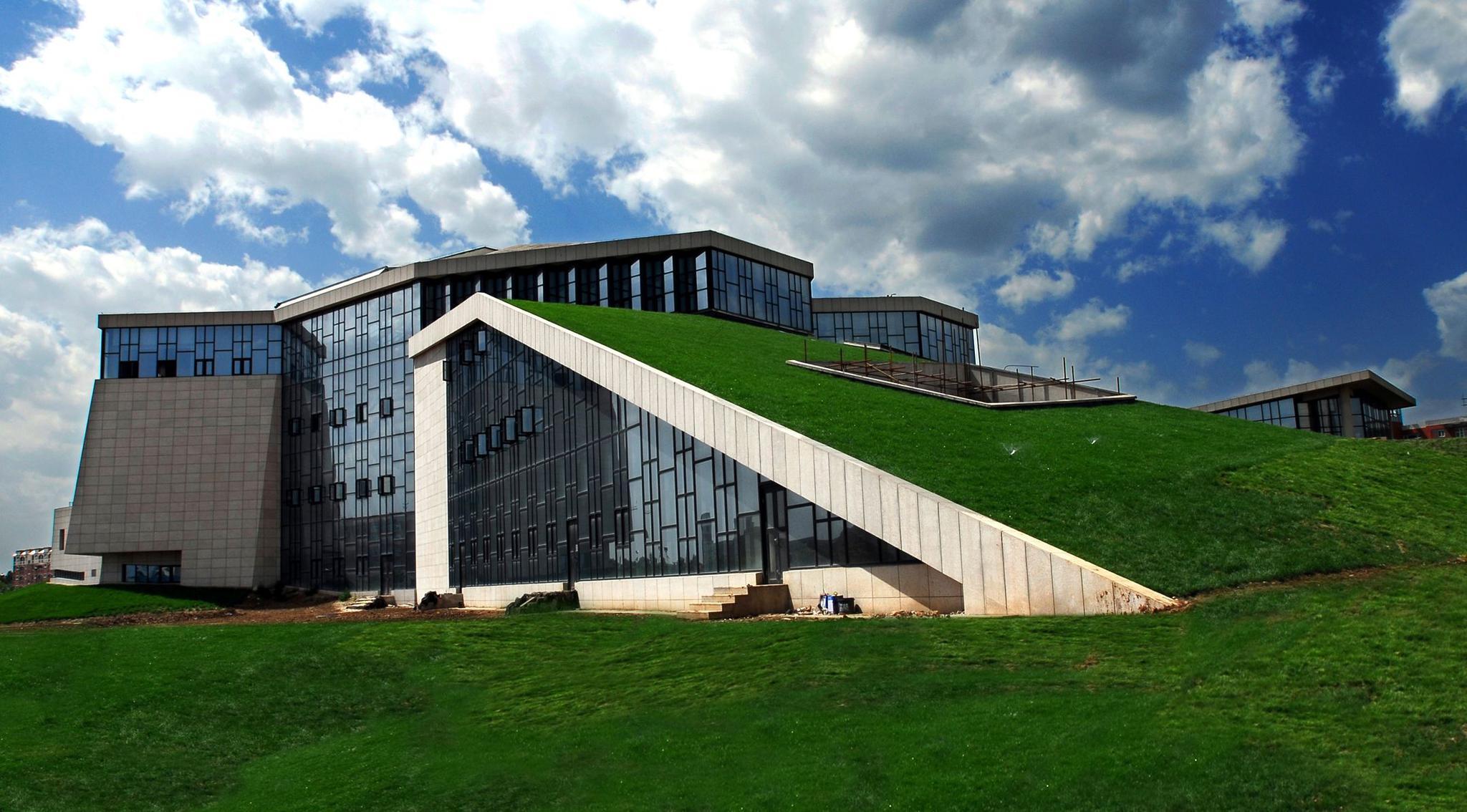 西安欧亚学院的图书馆