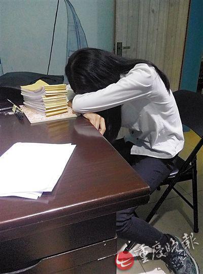 大学期间,经常工作到深夜。