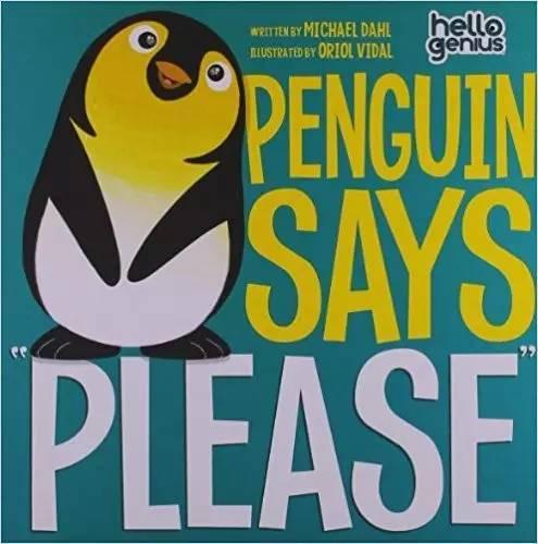 """小企鹅原本十分挑剔,妈妈是如何教会它说""""请""""的呢?和可爱的小企鹅一起变得有礼貌吧。"""