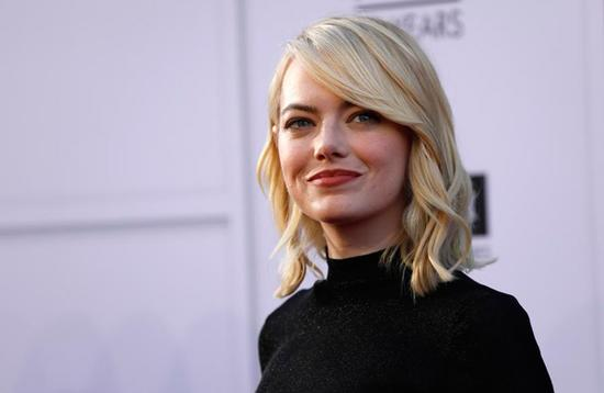 Emma Stone has topped the Forbes list ranking the highest-paid actresses of the year.    石头姐艾玛•斯通登顶福布斯2017全球女演员收入排行榜。
