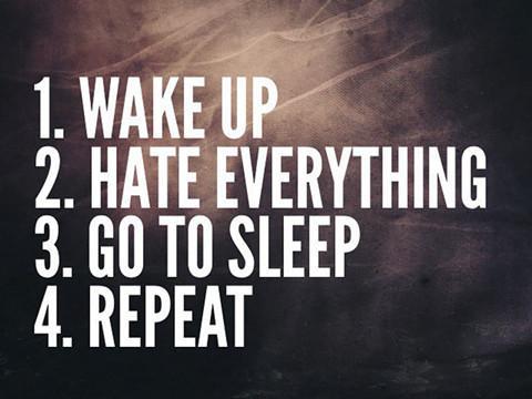 1. Wake up