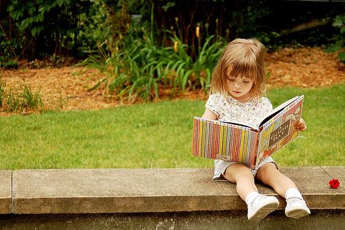 7.Reading with your kids