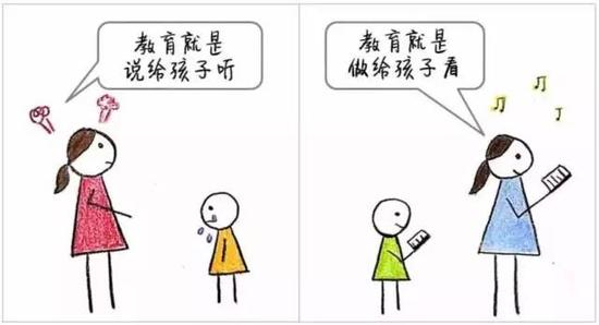 普通父母 VS 智慧父母