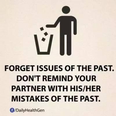 12. 忘记那些不开心的过去,