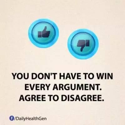 6. 你不需要赢得每次争论。