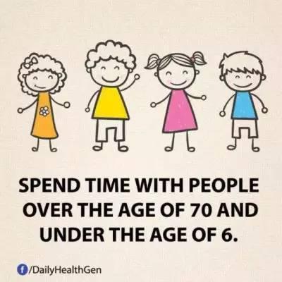 4. 花点时间与70岁以上的老人