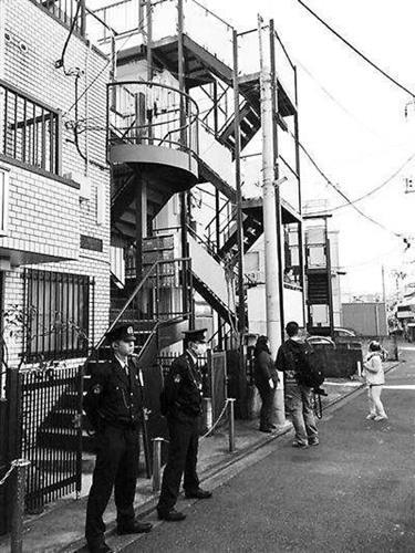 江歌在日本租住的公寓(资料图:日本《中文导报》)