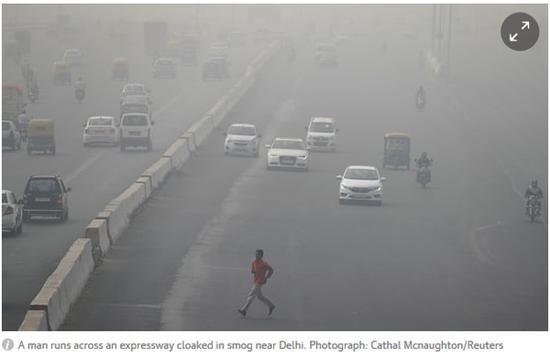 德里这次的空气污染究竟严重到什么程度呢?
