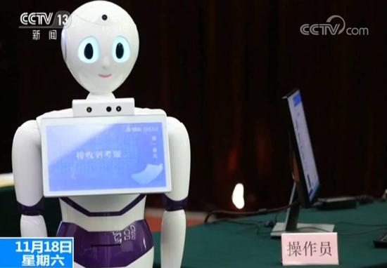"""机器人""""晓医""""首考超合格线96分"""