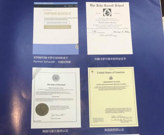 """项目中罗列的一系列受到""""官方认证""""的材料。"""