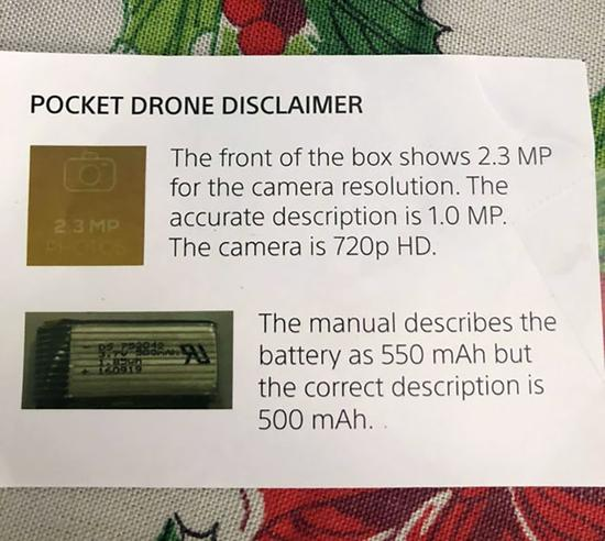 24.Inside The Package Of A Drone My Parents Got Me For Christmas