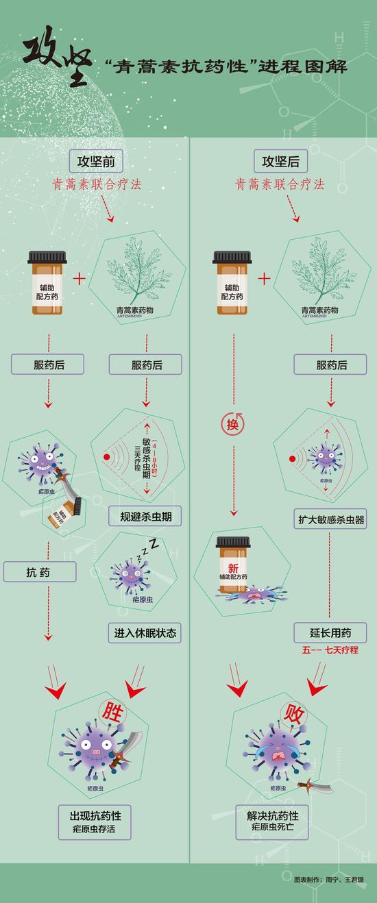 """屠呦呦团队放""""大招"""":青蒿素抗药性等研究获新突破"""