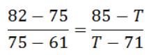 解得, T≈80.33;