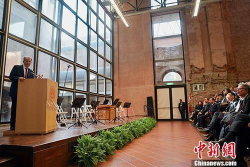 """""""世界最古老大学""""庆祝孔子学院成立十周年"""