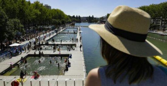 高温来袭臭氧污染加重 法国多地实施交通管制