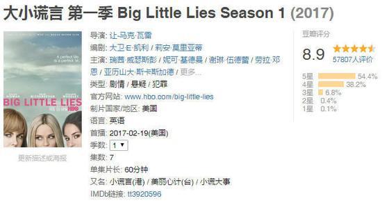 《大小谎言》Big Little Lies