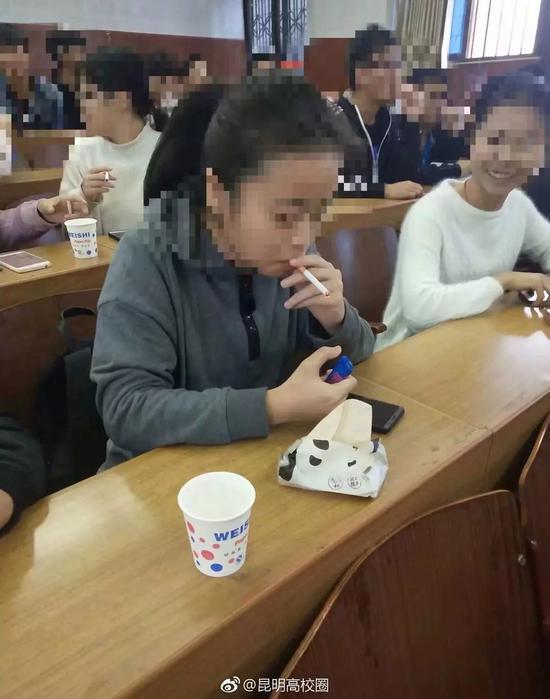 微博@昆明高校圈 图